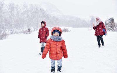 Viajar a la nieve en autocaravanas con niños